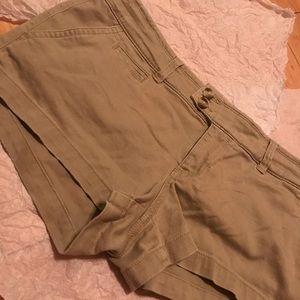Hollister Tan Shorts
